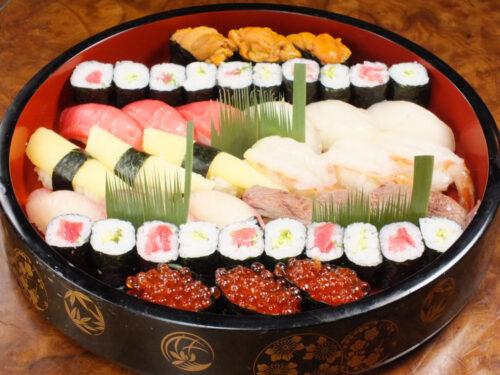 特上寿司盛り合わせ『清水』(5人前)