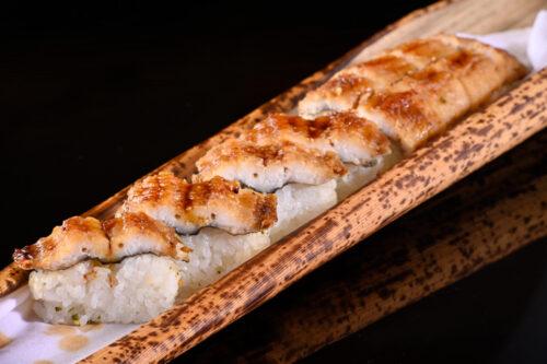 穴子 棒寿司